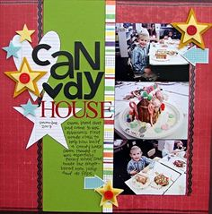 Candy House...Christmas Gingerbread House Layout