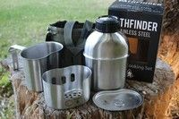 Pathfinder Canteen and Cookset Canteen, Camping Equipment, Bushcraft, Weapons, Survival, Hiking, Voyage, Weapons Guns, Walks