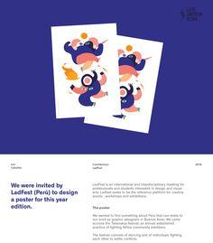 Ladfest 2016 - Poster & illustration on Behance