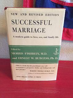 Vintage 1963 Successful Marriage Book 1960s Housewife Bride Mid Century Mod Sex   eBay