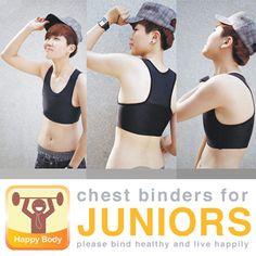 chest binder - Google Search