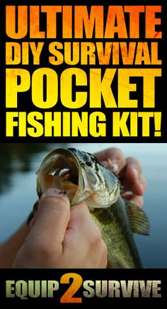 How to make your own DIY survival pocket fishing kit!! Videos of the kit included!!