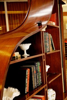 1896 Bechstein Piano Bookshelf up for Auction by the Don Wright Faculty of Music.  Auction closes March 28, 2014.