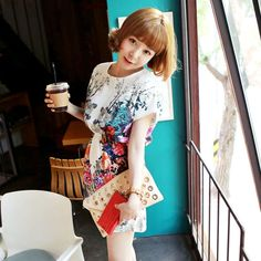 Love Is Floral Kimono Dress