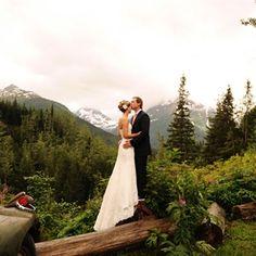 Audra & Shaun in Girdwood, Alaska wedding Rustic Wedding, Our Wedding, Dream Wedding, Wedding Things, Whimsical Wedding, Wedding Dreams, Garden Wedding, Wedding Stuff, Wedding Locations
