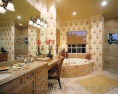 "The Sater Design Collection's luxury, Mediterranean home plan ""San Sebastian"" (Plan #6945). saterdesign.com"