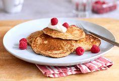 Saiba como preparar uma deliciosa panqueca de banana para seu café da manhã! - Veja mais em: http://m.maisequilibrio.com.br/receitas-light/panqueca-de-banana-m0515-50423.html?pinterest-mat