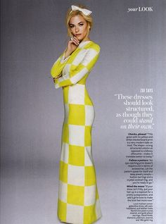 Jaime King in Louis Vuitton for InStyle April 2013