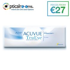 69c3bf899c #1-Day Acuvue Trueye Healthy Eyes - Clinically shown to be comparable to the