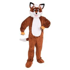 Adult Promotional Fox Costume - One Size Fits Most