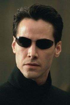 Keanu Reeves dans Matrix Reloaded