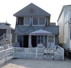 Jersey Shore Vacation Rentals: Point Pleasant Beach Ocean Front Beach House  $2000