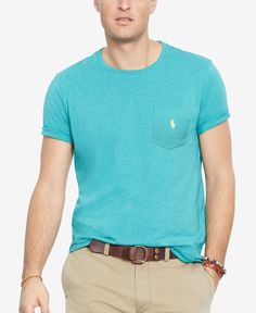 Polo Ralph Lauren Big and Tall Classic-Fit Jersey Crewneck