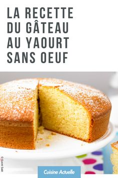 Le plus récent Photos Gateau sans oeuf Concepts Cake Sans Oeuf, Looks Yummy, French Food, Homemade Cakes, Cheesecake Recipes, How To Make Cake, Cravings, Biscuits, Bakery