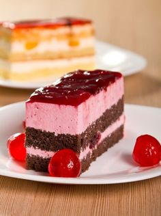 Photo about Cherry and chocolate cake with dried cherries. Image of food, pastry, sweet - 21873908 Cake Stock, Cherry Cake, Dried Cherries, Sweet 16 Parties, Recipe Images, Chocolate Cake, Cheesecake, Dessert Recipes, Food And Drink