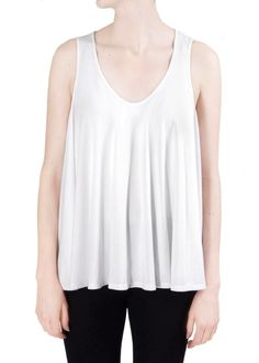 """We love this organic cotton circle shirt. """"When laid flat the shirt looks like a circle — reminiscent of the pebbles on the beach,"""" says designer Julia Ahrens. """"When on the body, the shirt looks fluid and has tons of movement, just like the ocean."""" http://shopgoodcloth.com/collections/shirts-sweaters/products/circle-shirt   #fashion #fashionblogger #style  #ethicalfashion #ecofriendly #americanmade #vegan #organic #yoga #yogi"""