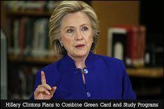 Hillary Announces Start Up Visa Program