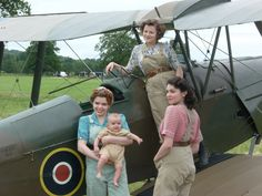 Tiger Moth ... BBC Land Girls