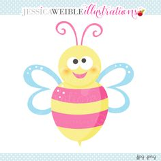 Pink Spring Bumble Bee