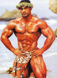 Tevita Aholelei (Hawaiian Bodybuilder)