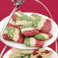 Spumoni Icebox Cookies - Megan and I have made these and they are BY FAR my favorite cookies EVER!