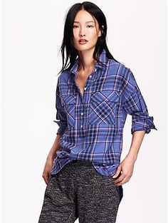 Boyfriend Plaid Flannel Shirt Product Image | Take my money ...