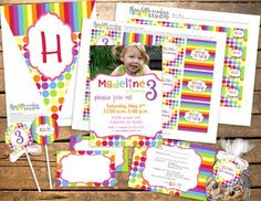 free printable party pack