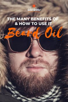 Just like you would use conditioner to smooth out your hair on your head, you should use beard oil to condition your beard. When you use it as a conditioner, it conditions the follicles of each beard hair, preventing dryness and irritation on the skin. Read on to learn more beard oil benefits according to #wildwillies Beard Growth, Beard Care, Hair And Beard Styles, Short Hair Styles, Growth Supplements, Best Beard Oil, Natural Beard Oil, Beard Tattoo, Oil Benefits