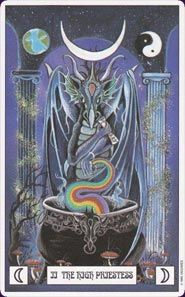 the dragon tarot cards | Card Images from the Dragon Tarot