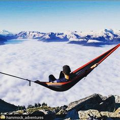 18 Photos that Will Make You Want to Try Hammock Camping | Red Rover Camping Life is beautiful, especially when you're in a hammock.