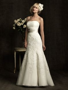 Plus Size Allure Bridal Gown - check out the rest of the wedding dresses here! blossomsbridal.com