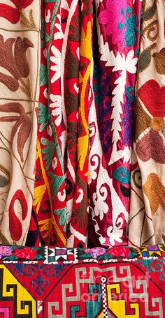 Turkish Textiles #interiordesign #textiles