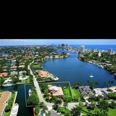 Ft.  Lauderdale intracoastal homes
