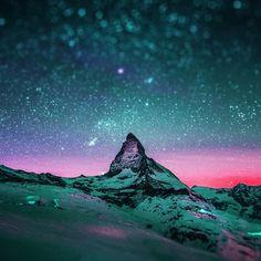 starry night sky stars ipad air wallpaper hd