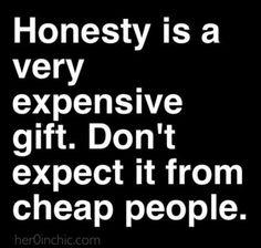 Good Honest Quote