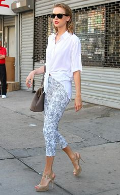Hamptons Ready from Taylor Swift's Street Style