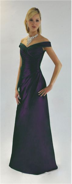 Elegant Teal Evening Dress
