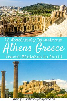 Whether you are looking to explore Athens Greece beaches, do some Athens Greece photography or planning some Athens Greece travel, this post is for you! This post details all the Athens Greece travel mistakes that you need to avoid when planning an Athens Greece trip. #travel #Greece #Athens #wanderlust #europe