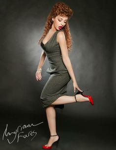 Poses Myriam Fares Fit Women Sexy Dresses Sexy Legs High Heels Fashion Design