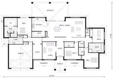Caspian 347 ON DISPLAY, Home Designs in Gisborne | GJ Gardner Homes Gisborne