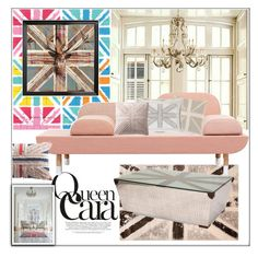 """My little British Corner"" by frenchfriesblackmg ❤ liked on Polyvore featuring interior, interiors, interior design, home, home decor, interior decorating, Brewster Home Fashions, 1Wall, nuLOOM and Dot & Bo"