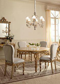 Italian Luxury Dining Room Wood Furnitureandrea Fanfani Italy Amazing Luxury Dining Room Furniture Decorating Inspiration