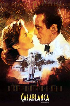 Casablanca (1942)  Humphrey Bogart, Ingrid Bergman