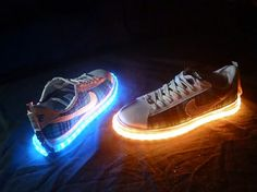 Fashion. Vision X LED Shoe Kit Will Make You Walk On Light #technology