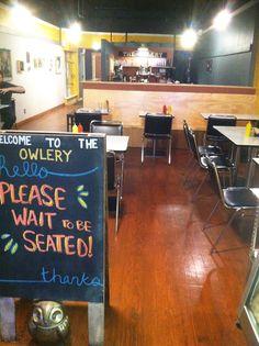 The Owlery-Bloomington, Indiana. My favorite vegetarian restaurant in town!
