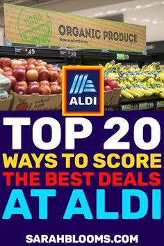 Save BIG at Aldi with These Genius Money Saving Hacks You'll Wish You Knew Sooner Save Money On Groceries, Ways To Save Money, Money Tips, Money Saving Tips, How To Make Money, Cash Money, Frugal Living Tips, Frugal Tips, Frugal Meals