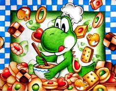 Lost pic- Yoshi's Cookie by Zeldagal on DeviantArt