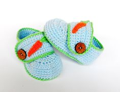 crochet baby slippers with carrots
