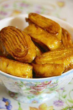 Tagliatelle fritte dolci o Croccantini di Carnevale Tagliatelle fritte dolci di Carnevale