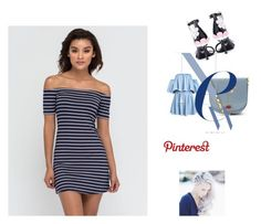 """Pinterest New Outfit Women #71"" by ibur-7snowflakes ❤ liked on Polyvore featuring Prada, Lulu Guinness and 71"